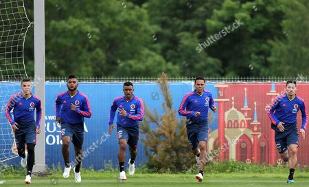 Editorial picture of Colombia training, Kazan, Russian Federation - 20 Jun 2018