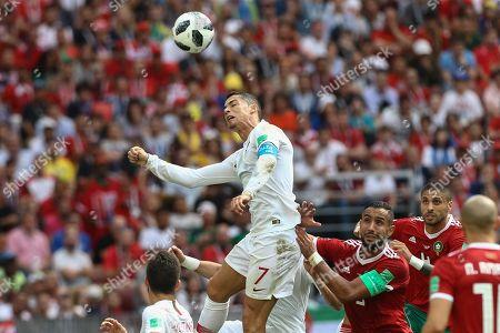 Cristiano Ronaldo and Mehdi Benatia