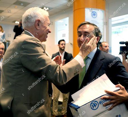 Jose Manuel Garcia-Margallo and Ramon Garcia Hernandez