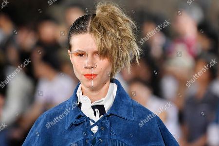 Editorial image of Facetasm - Runway - Paris Fashion Week Spring/Summer 2019, France - 20 Jun 2018