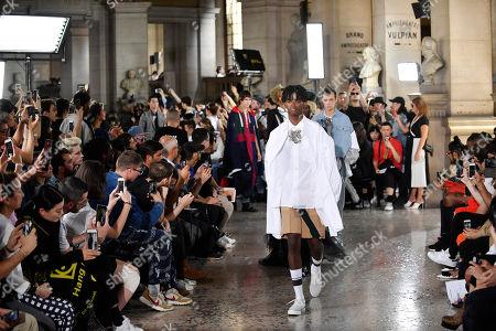 Editorial photo of Facetasm - Runway - Paris Fashion Week Spring/Summer 2019, France - 20 Jun 2018