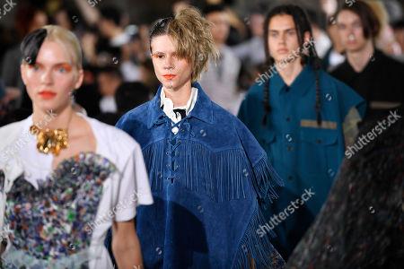 Editorial picture of Facetasm - Runway - Paris Fashion Week Spring/Summer 2019, France - 20 Jun 2018