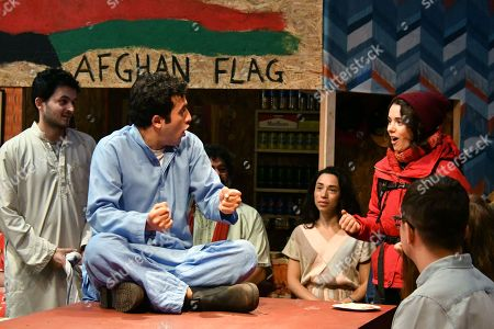 Yasin Moradi, Rachel Redford in The Jungle