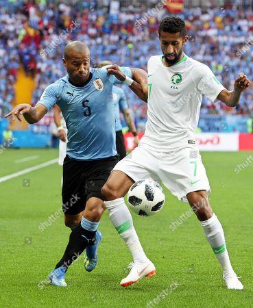 Carlos Sanchez and Salman Al-Faraj
