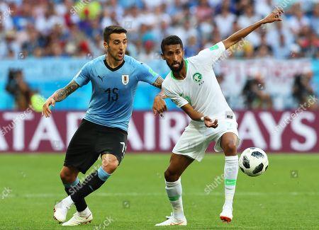 Matias Vecino and Salman Al-Faraj