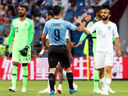 Editorial photo of Group A Uruguay vs Saudi Arabia, Rostov-On-Don, Russian Federation - 20 Jun 2018