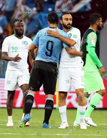 Editorial picture of Group A Uruguay vs Saudi Arabia, Rostov-On-Don, Russian Federation - 20 Jun 2018