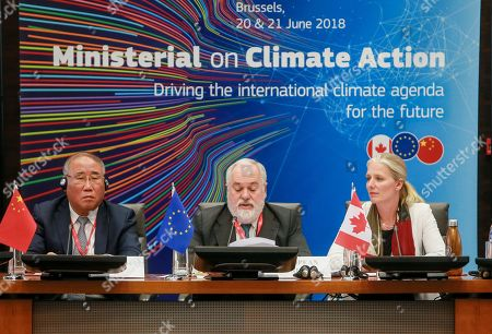 Editorial photo of Second Ministerial on Climate Action, Brussels, Belgium - 20 Jun 2018
