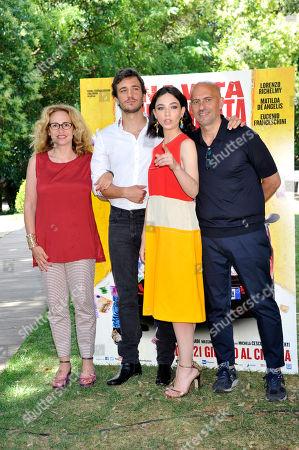 Paola Lucisano, Eugenio Franceschini, Matilda De Angelis, Marco Ponti
