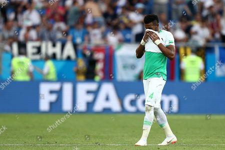 Editorial photo of Uruguay v Saudi Arabia, Group A, 2018 FIFA World Cup football match, Rostov Arena, Rostov-on-Don, Russia - 20 Jun 2018