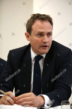 Stock Image of Tom Tugendhat MBE MP, Chair, Foreign Affairs Select Committee, keynote speaker
