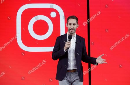 Stock Image of Kevin Systrom, CEO and co-founder of Instagram, prepares for Wednesday's announcement about IGTV in San Francisco. Facebook's Instagram app is loosening its restraints on video with a new channel that will attempt to lure younger viewers away from Google's YouTube and pave the way to sell more advertising