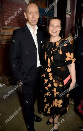 Stock Image of Nick Knight and Charlotte Knight