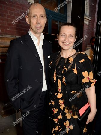 Stock Picture of Nick Knight and Charlotte Knight