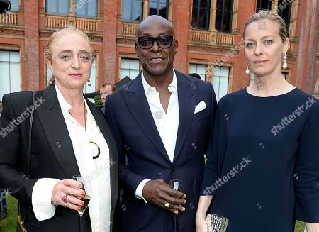 Camilla Lowther and Charles Aboah with guest