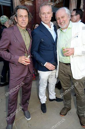 Stephen Webster, Gary Kemp and Nick Allott