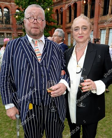 Fergus Henderson and Camilla Lowther