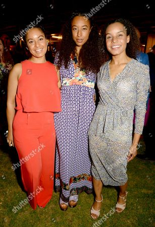 Stock Image of Candice Bailey, Corinne Bailey Rae and Rhea Bailey