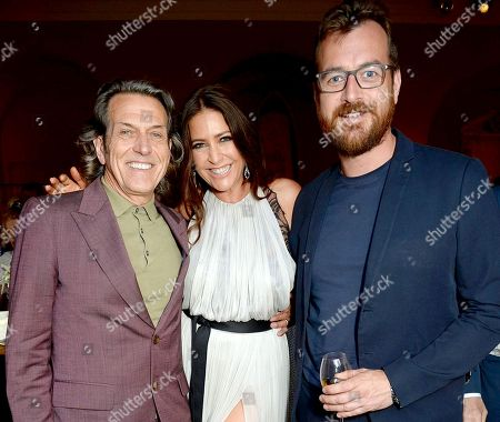 Stephen Webster, Lisa Snowdon and George Smart