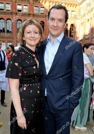 Frances Osborne and George Osborne