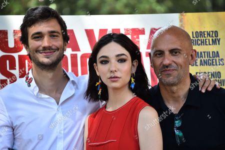 Editorial picture of 'Una Vita Spericolata' film photocall, Rome, Italy - 20 Jun 2018