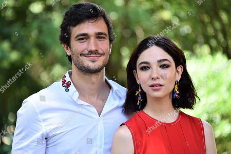 Eugenio Franceschini and Matilda De Angelis