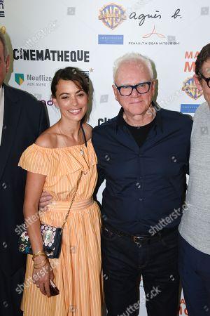 Berenice Bejo, Malcolm McDowell