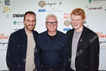 Charlie McDowell, Malcolm McDowell, Beckett McDowell