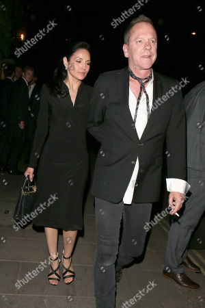 Editorial image of Kiefer Sutherland out and about, London, UK - 21 Jun 2018