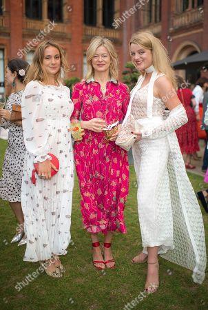 Lady Marina Windsor, Lady Helen Taylor and Flora Alexandra Ogilvy
