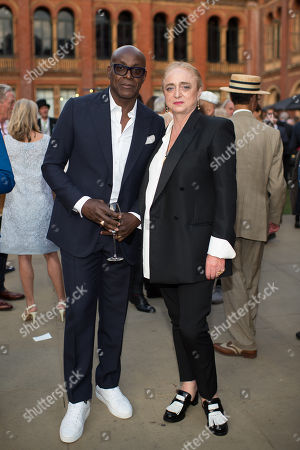 Charles Aboah and Camilla Lowther