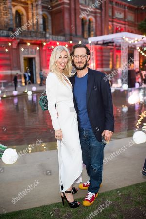 Stock Image of Jenny Halpern-Prince and Ryan Prince