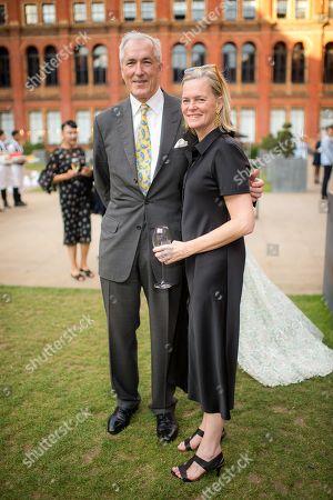Jeremy King and Lady Ruth Dundas