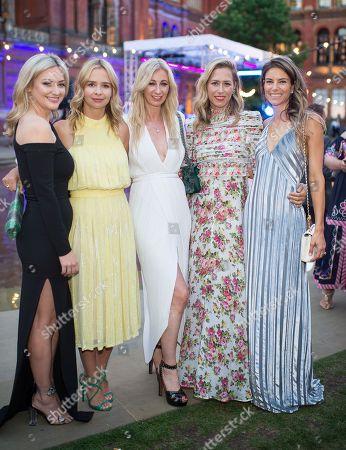 Kathryn Parsons, Marissa Hermer, Jenny Halpern-Prince, Lauren Prince and Sarah Mitchell