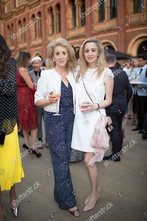 Lady Wolfson of Marylebone and Antoinette Jackson