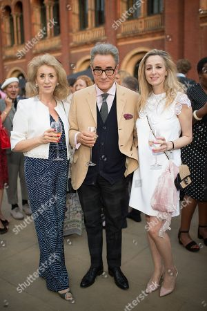 Lady Wolfson of Marylebone, Peter Yorke and Antoinette Jackson