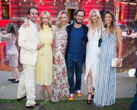 Matt Hermer, Marissa Hermer, Lauren Prince, Ryan Prince, Jenny Halpern-Prince and Sarah Mitchell