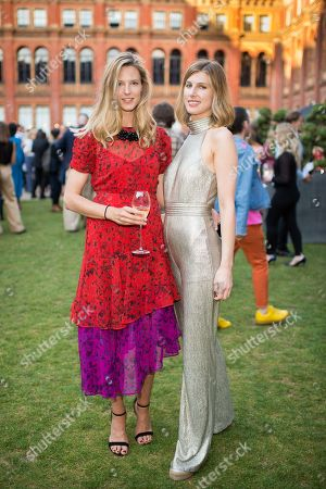 Stock Picture of Olivia Hunt and Susanna Warren