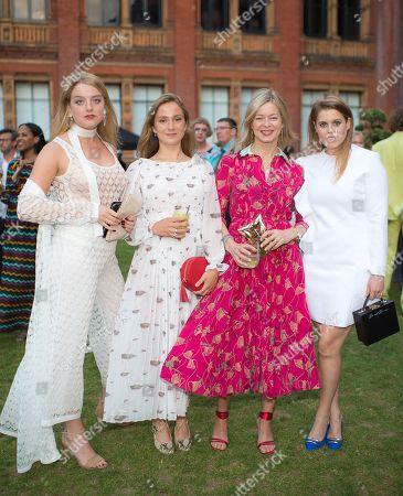 Flora Alexandra Ogilvy, Lady Marina Windsor, Lady Helen Taylor and Princess Beatrice of York