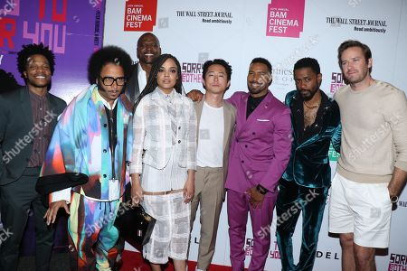 Jermaine Fowler, Terry Crews, Boots Riley (Writer, Director), Tessa Thompson, Steven Yeun, Omari Hardwick, Lakeith Stanfield and Armie Hammer
