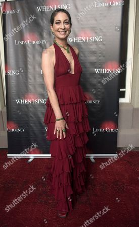 Editorial image of 'When I Sing' film premiere, Atlantic Highlands, USA - 20 Jun 2018