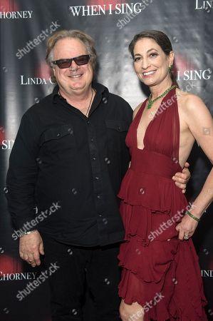 Stock Image of Tony Pallagrosi and Linda Chorney