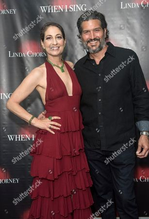 Stock Picture of Linda Chorney and Maxwell Scott