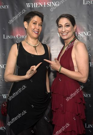 Stock Image of Michelle Shocked and Linda Chorney