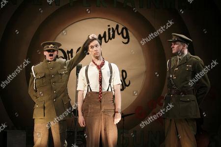 l-r: William Findley (Goldsmith), Sholto Morgan (Spike), Matthew Devereaux (Bandmaster)