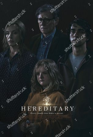 Hereditary (2018) Poster Art. Toni Collette, Milly Shapiro, Gabriel Byrne, Alex Wolff