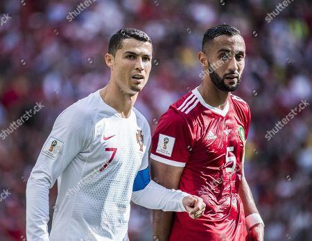 Cristiano Ronaldo, Mehdi Benatia