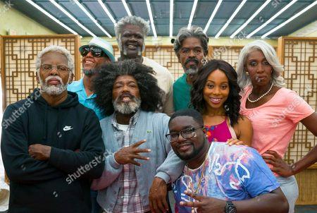 Kyrie Irving, Reggie Miller, Nate Robinson, Shaquille O'Neal, Lil Rel Howery, Chris Webber, Erica Ash, Lisa Leslie