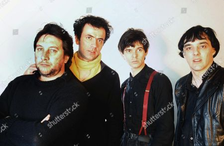 The Stranglers - Jet Black, Hugh Cornwell, Jean-Jacques Burnel and Dave Greenfield