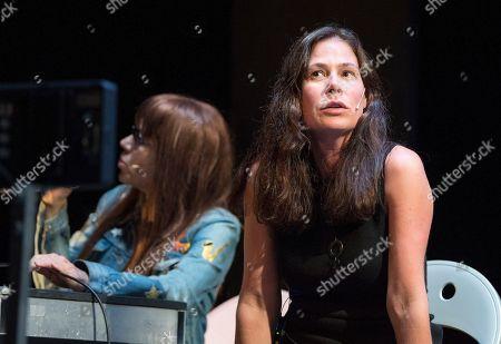 Maura Tierney as Germaine Greer, Kate Valk as Jill Johnston